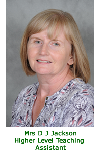 Jane Jackson - Higher Level Teaching Assistant